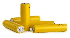 Pilhas amarelas