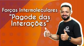 Thumbnail com o professor da videoaula sobre força intermoleculares