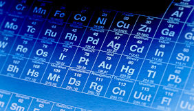 Tabela periódica azul
