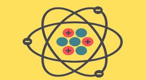 desenho representando átomo