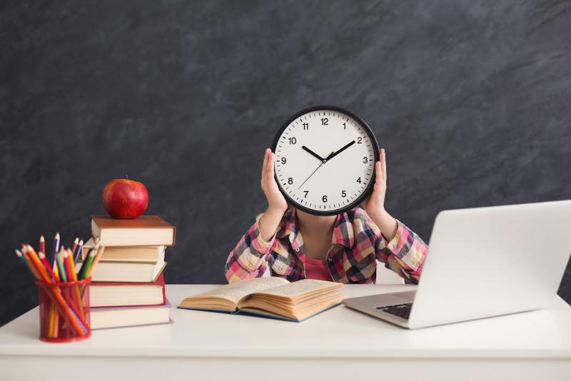 O estudante e sua relação com o tempo.