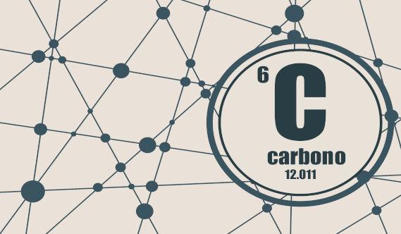desenho representando Carbono