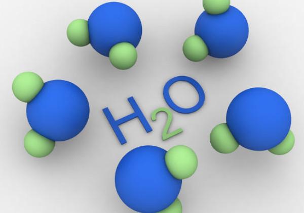 moléculas da água