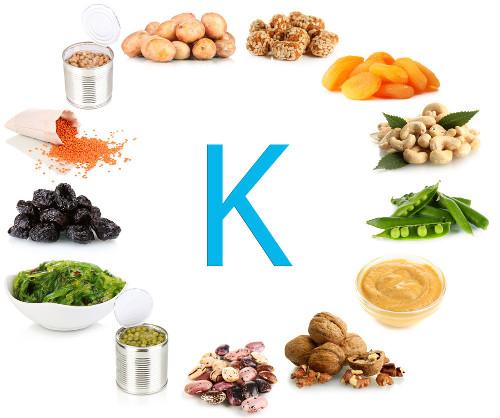 Exemplos de alimentos que possuem potássio