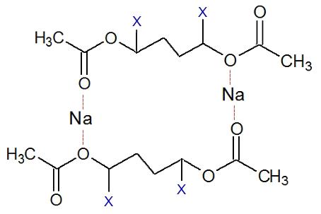 Fórmula estrutural tridimensional da geleca