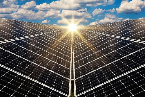 Toda célula solar apresenta um aspecto escuro