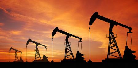 Exploração do petróleo em região seca