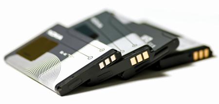 Bateria utilizada em alguns aparelhos celular