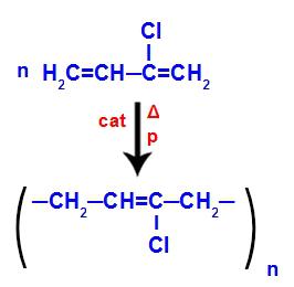 Equação de formação do polineopreno