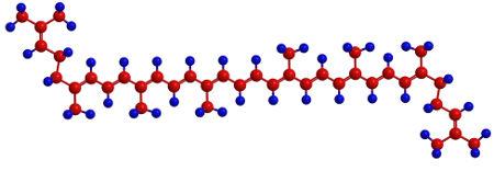 Fórmula estrutural do licopeno
