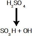 Rompimento da ligação sigma no ácido sulfúrico