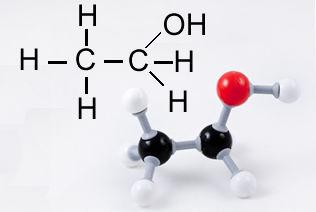 Fórmula do etanol (álcool comum)