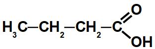 Exemplo de uma cadeia normal de um ácido carboxílico