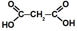 Exemplo de cadeia de um ácido carboxílico com duas carboxilas