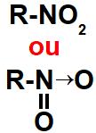 Representação do grupo que identifica um nitrocomposto