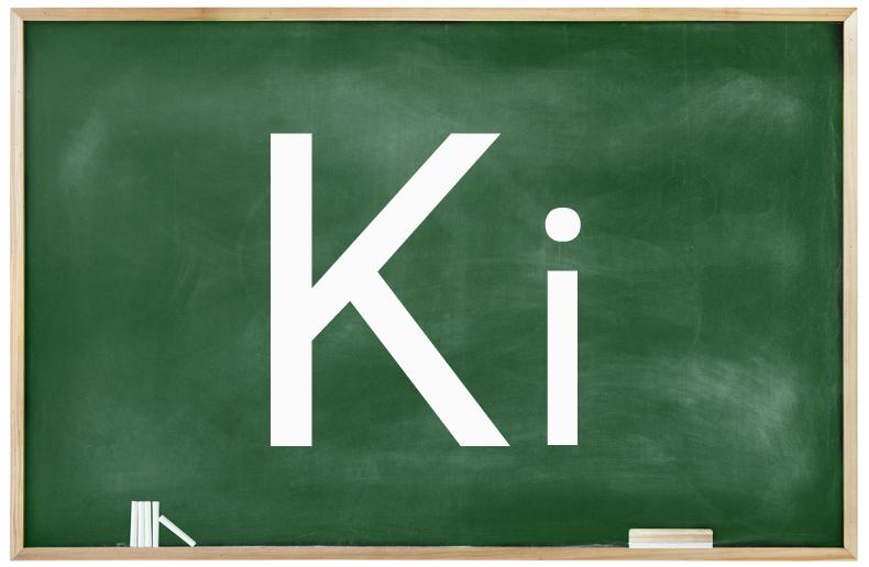 Símbolo utilizado para a constante de ionização.