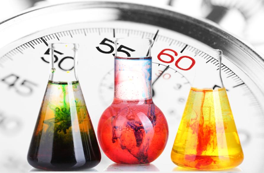 A Cinética Química estuda a velocidade das reações químicas