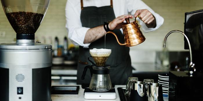 A filtração é uma importante etapa da preparação do café