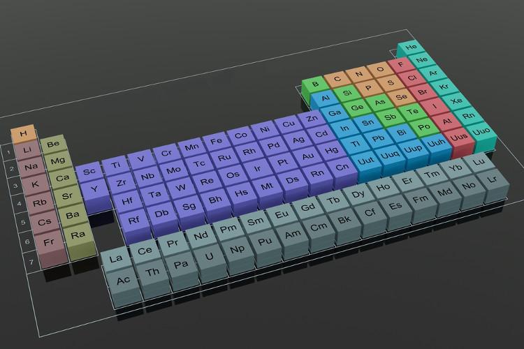 A lei periódica não serve somente para organizar os elementos na ordem do número atômico, mas revela também muitas propriedades dos elementos
