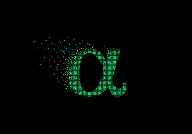 Alfa é a letra utilizada para representar o grau de dissociação das bases