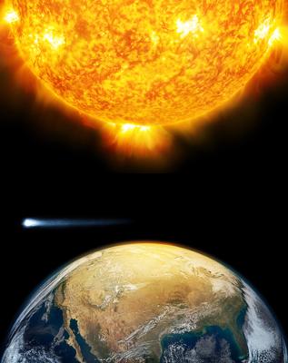 Alguns defendem que o aquecimento global não é resultado do efeito estufa, mas sim de causas naturais, como o aumento da atividade solar