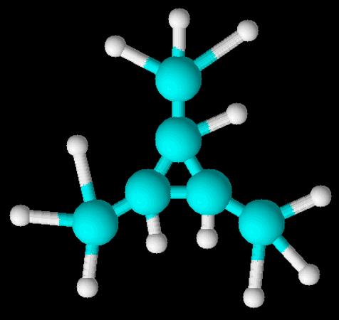 Ciclano de nome 1,2,3-trimetilciclopropano