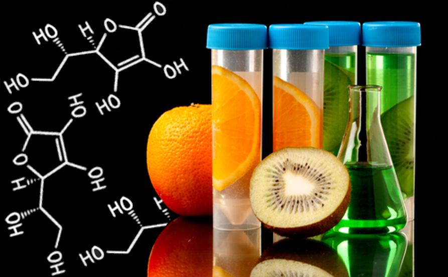 Com a Química dos Alimentos, descobrimos que a vitamina C (ácido ascórbico) está presente na laranja, tem ação antioxidante e previne o escorbuto