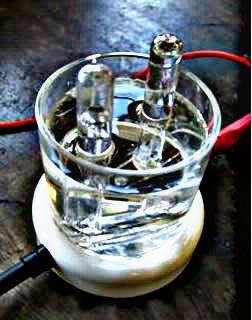 Eletrólise da água