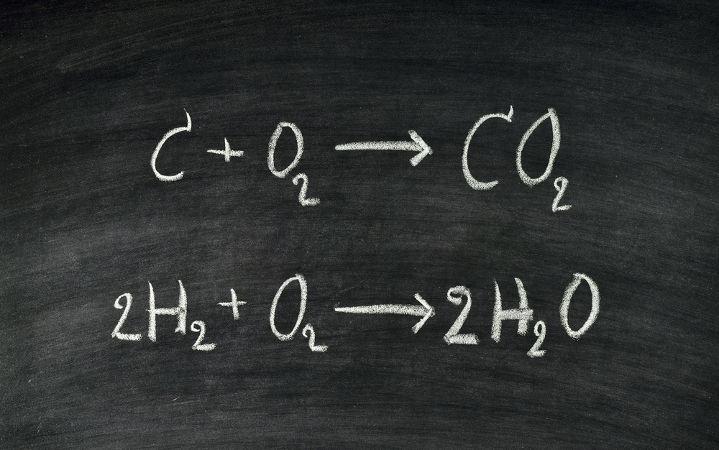 Equações químicas balanceadas