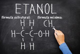 Escrevendo a fórmula mínima do etanol