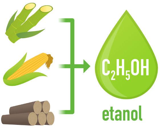 Etanol é o nome do álcool mais utilizado no cotidiano