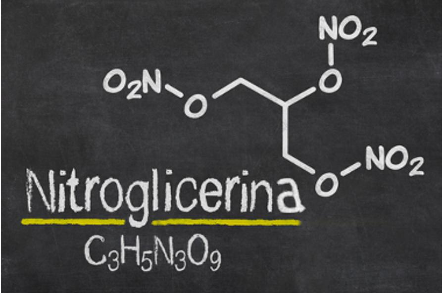 Fórmula da nitroglicerina