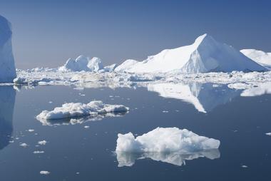 Iceberg sofrendo fusão