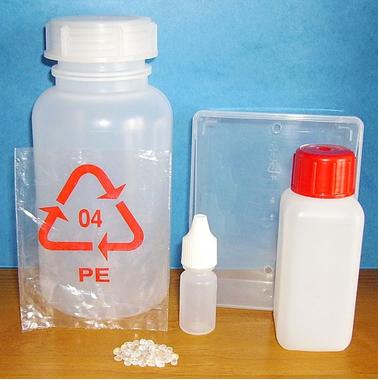 Materiais feitos de polietileno de baixa densidade*