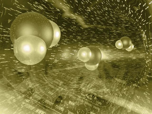 Moléculas de água distantes umas das outras, o que denota menos choques moleculares