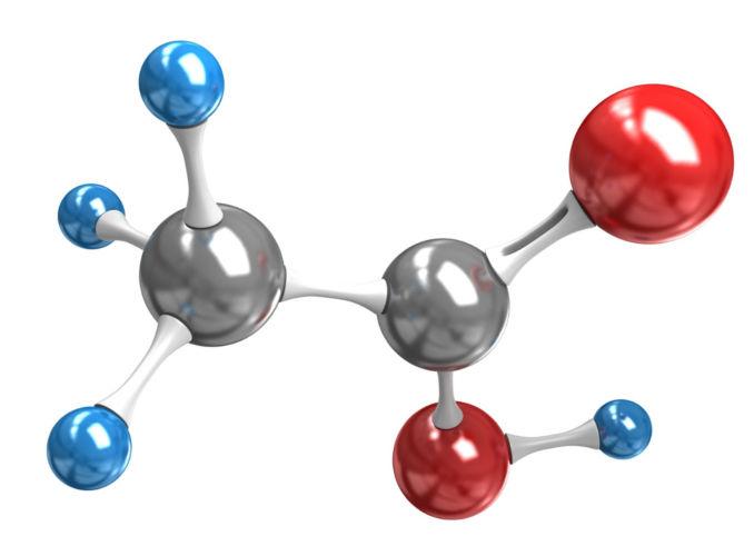 O ácido acético é um tipo de ácido carboxílico