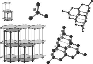 O carbono origina diversos alótropos