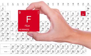 O flúor é o elemento mais eletronegativo da Tabela Periódica
