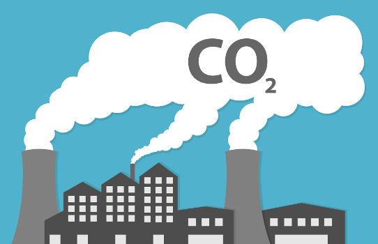 O gás carbônico apresenta um volume parcial no ar atmosférico