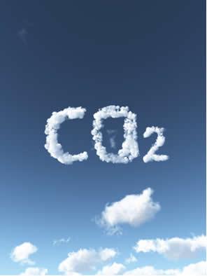 O gás carbônico é, na verdade, o dióxido de carbono (CO2), um óxido ácido que está presente na atmosfera