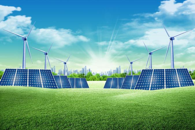 O uso de energia renovável é um princípio da Química Verde