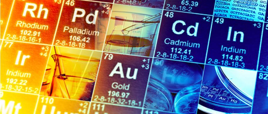 Os elementos químicos que compõem todas as substâncias conhecidas estão listados na tabela periódica