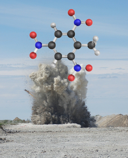 Os nitrocompostos aromáticos são muito empregados como explosivos