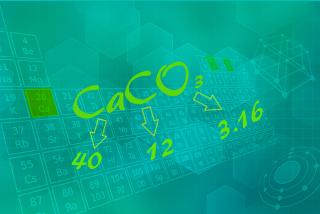 Para calcular a massa molecular das substâncias, é preciso consultar as massas atômicas dos elementos na Tabela Periódica