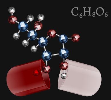 Principais representações do ácido ascórbico