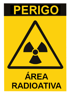 Símbolos como este eram vistos em áreas contaminadas pelo césio-137 em Goiânia
