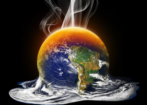 Vários cientistas alertam que o aquecimento global levará ao derretimento das geleiras e calotas polares